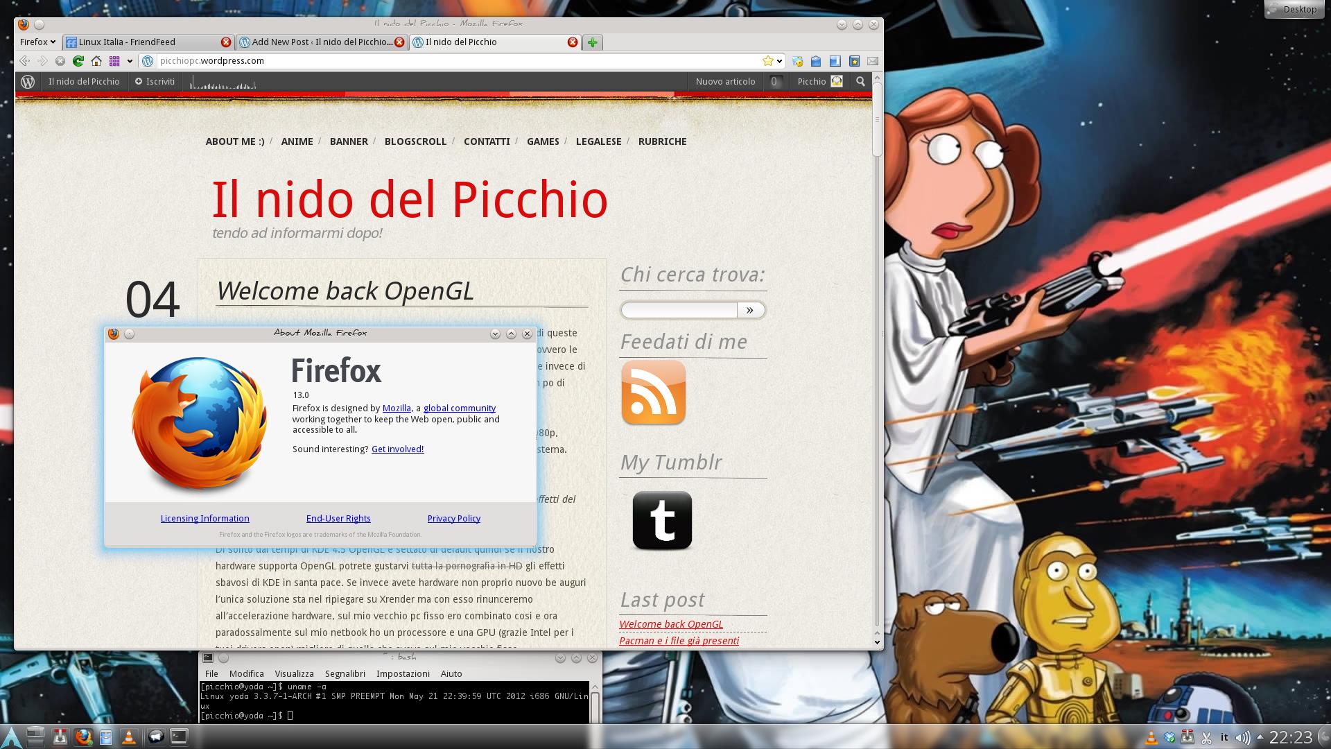 Firefox il nido del picchio for Il nido del picchio